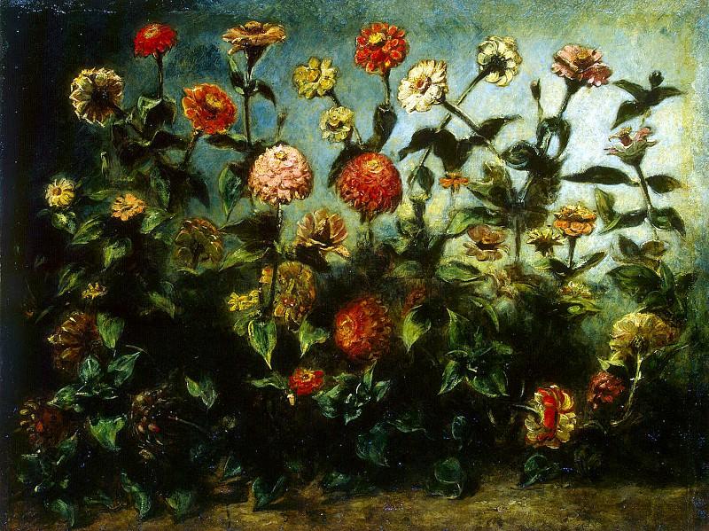 Delacroix, Eugène - Flowers. Hermitage ~ part 04