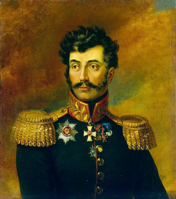 Dawe George - Portrait of Roman Ivanovich Bagration. Hermitage ~ part 04