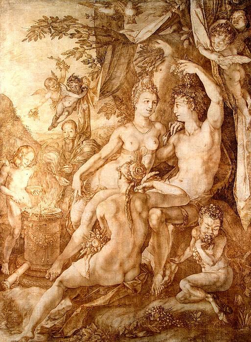 Голциус, Хендрик - Вакх, Венера и Церера. Эрмитаж ~ часть 4