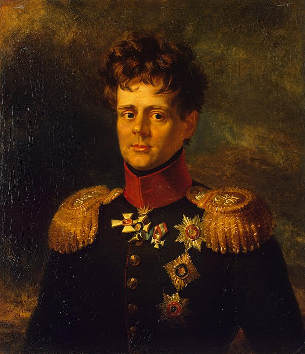 Dawe George - Portrait of Prince Eugene of Württemberg. Hermitage ~ part 04
