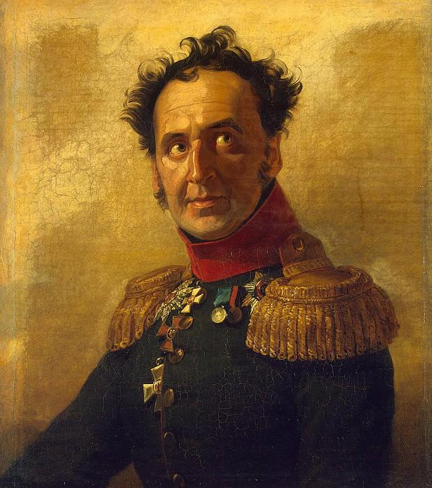 Dawe George - Portrait of Fyodor Ivanovich Talyzina. Hermitage ~ part 04