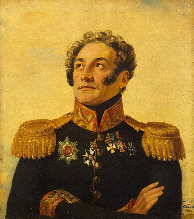 Dawe George - Portrait of Platon Ivanovich Kablukova. Hermitage ~ part 04
