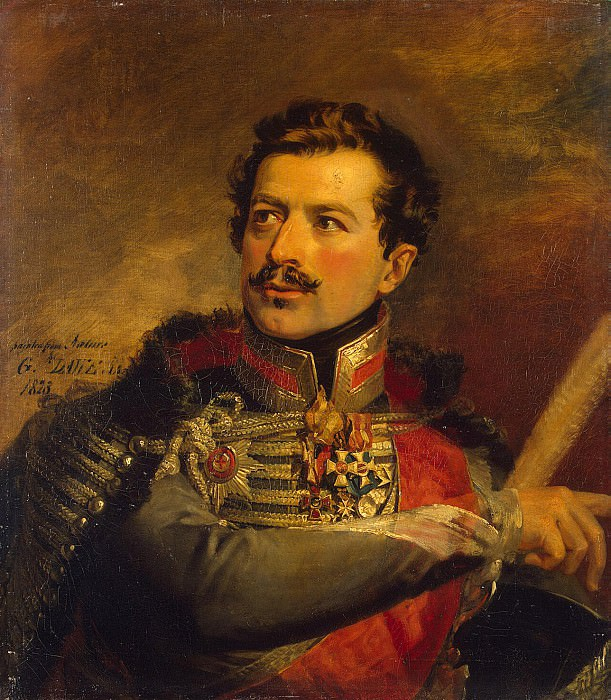 Dawe George - Portrait of Alexander Nikitich Seslavin. Hermitage ~ part 04