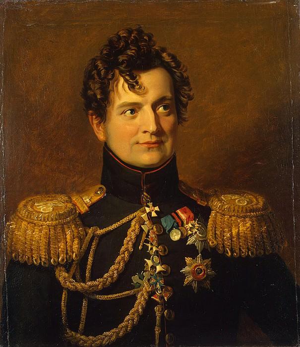 Dawe George - Portrait of Adam P. Ozharovskogo. Hermitage ~ part 04