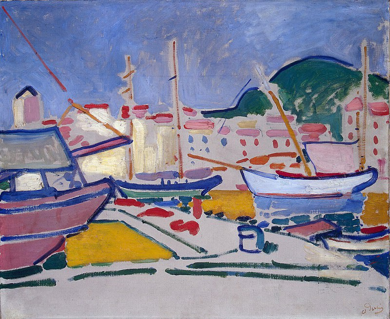 Derain, André - Port. Hermitage ~ part 04