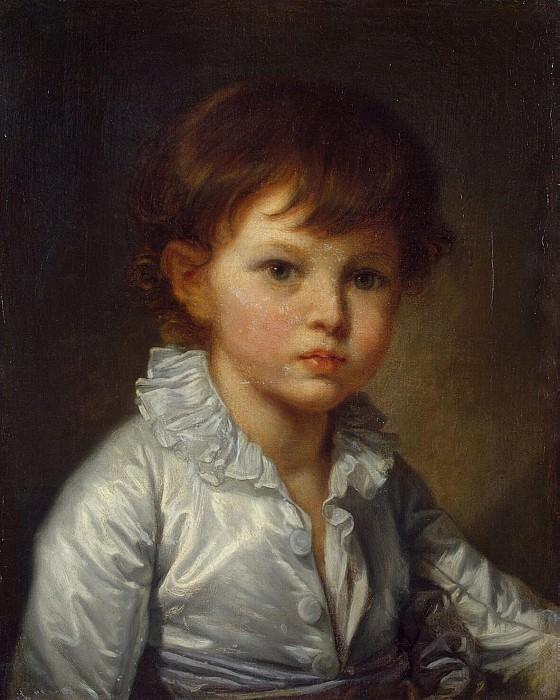 Greuze, Jean-Baptiste - Portrait of Count Stroganov, PA in childhood. Hermitage ~ part 04