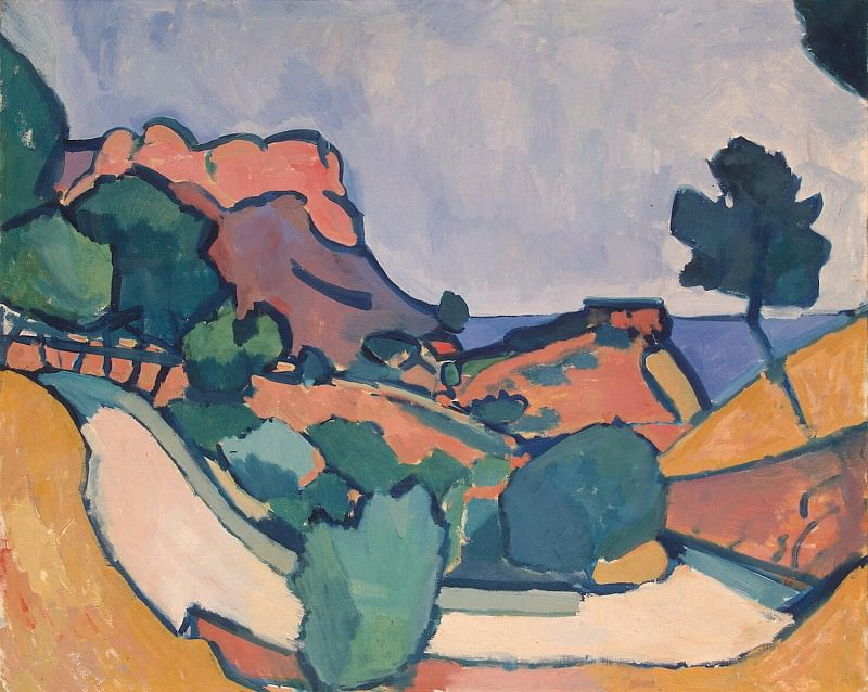 Derain, André - The road between the mountains. Hermitage ~ part 04