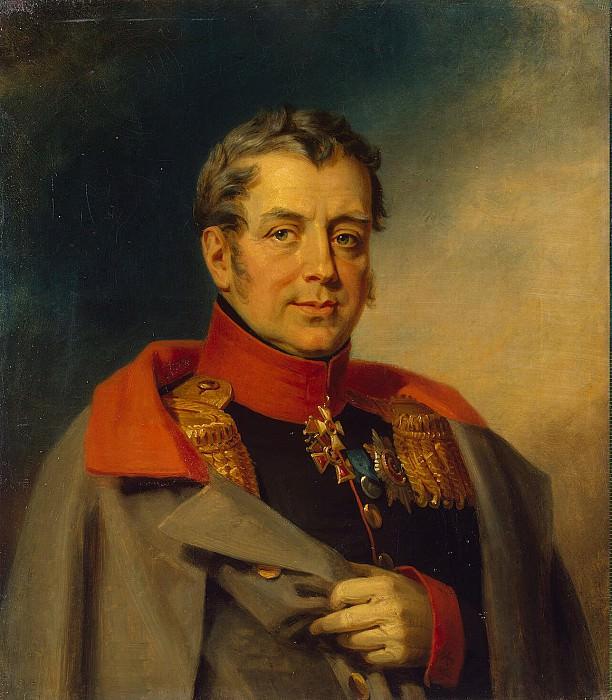 Dawe George - Portrait of Mikhail Dmitrievich Beam. Hermitage ~ part 04