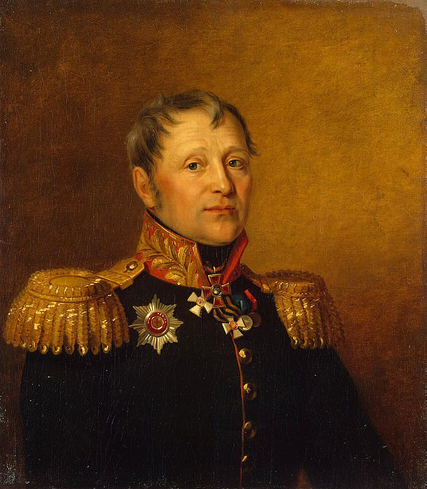 Dawe George - Portrait of Nikolai Filippovich Emelyanova. Hermitage ~ part 04