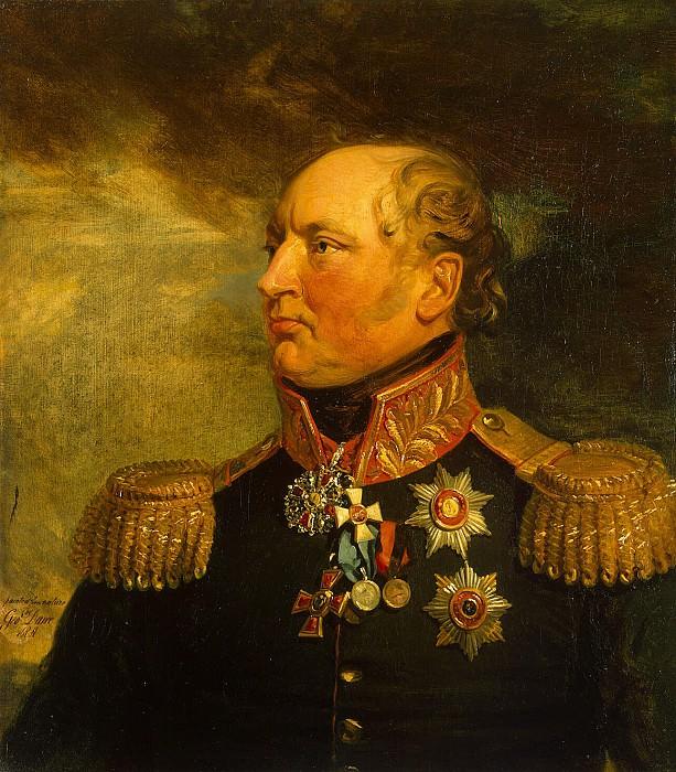 Dawe George - Portrait of Fyodor Fyodorovich Levisa. Hermitage ~ part 04
