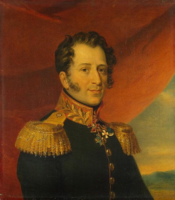 Dawe George - Portrait of Nikolai Alexandrovich Chicherin. Hermitage ~ part 04