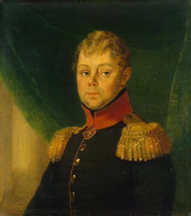Dawe George - Portrait of Fyodor Viktorovich Nazimova. Hermitage ~ part 04