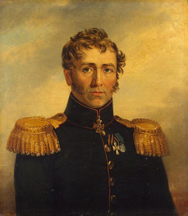 Dawe George - Portrait of Jacob Yegorovich Ginet. Hermitage ~ part 04