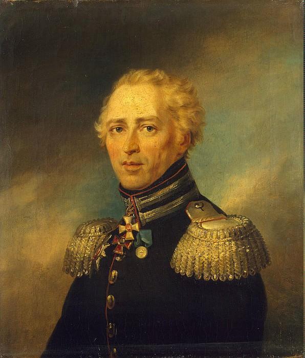 Dawe George - Portrait of Christian Ivanovich Truzsona. Hermitage ~ part 04