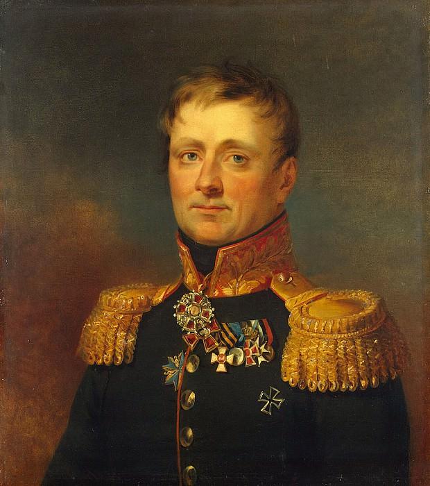 Dawe George - Portrait of Charles Gustavovich Stahl. Hermitage ~ part 04