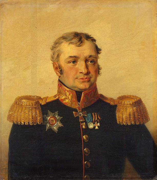 Dawe George - Portrait of Vasily Sergeyevich Rakhmanov. Hermitage ~ part 04