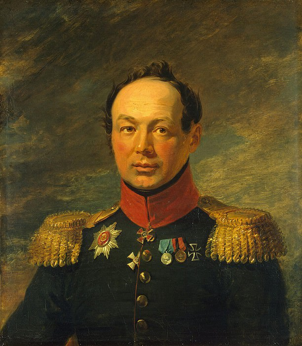 Dawe George - Portrait of Ivan Aleksandrovich Nabokov. Hermitage ~ part 04