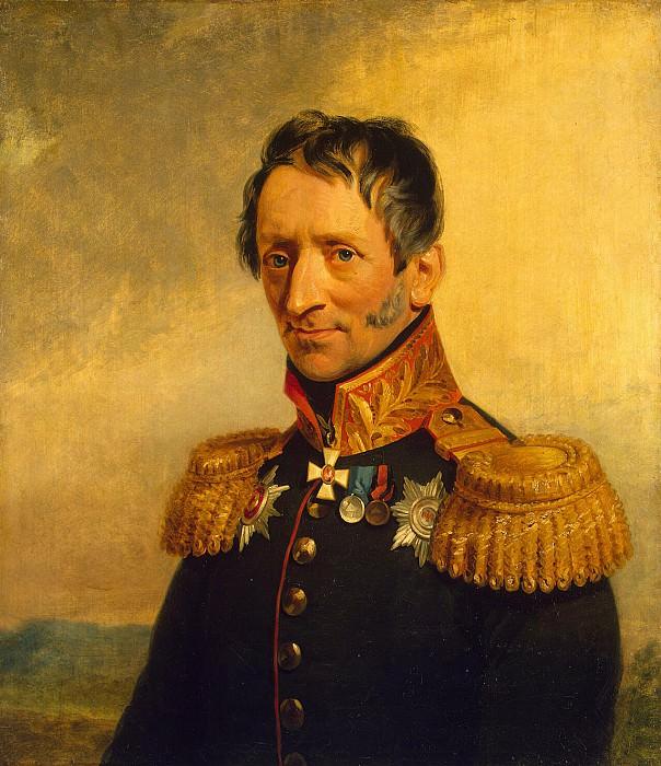 Dawe George - Portrait of Karl Karlovich Sievers. Hermitage ~ part 04