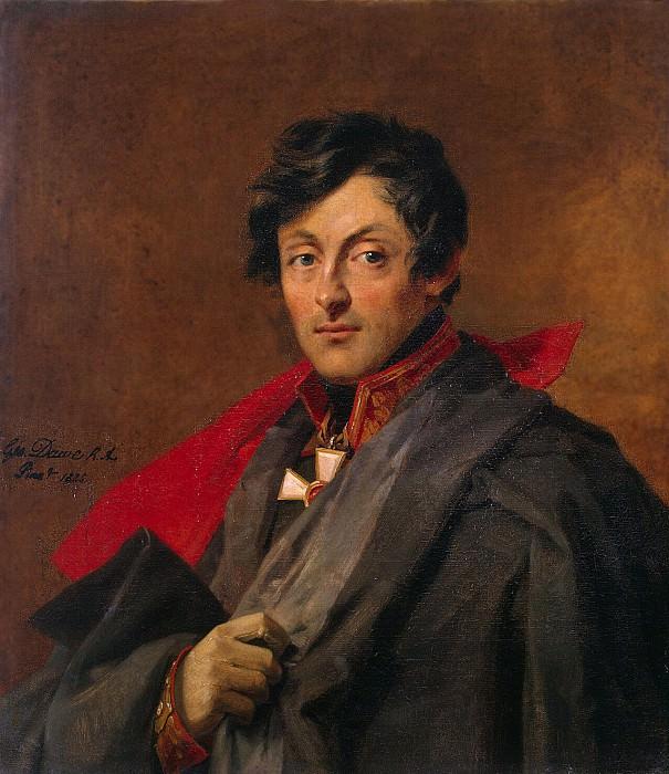 Dawe George - Portrait of Alexander Ivanovich Ostermann-Tolstoi. Hermitage ~ part 04