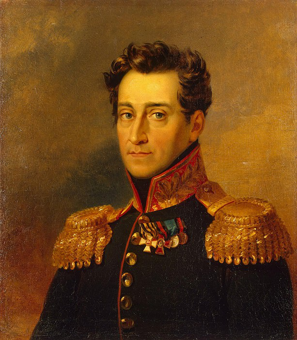 Dawe George - Portrait of Andrey Ivanovich Gudovich. Hermitage ~ part 04
