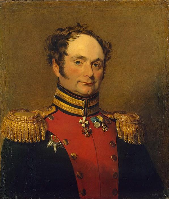 Dawe George - Portrait of Adam Ivanovich Bistroma. Hermitage ~ part 04