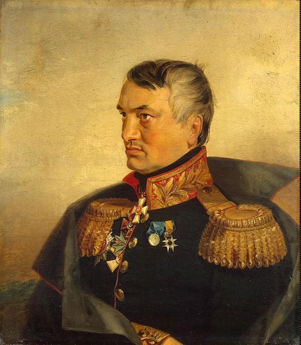 Dawe George - Portrait of Nikolai Vasilyevich Vasilchikova. Hermitage ~ part 04