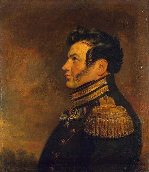 Dawe George - Portrait of Maxim Zhukov Kryzhanovsky. Hermitage ~ part 04