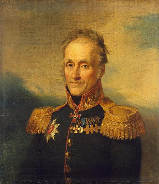 Dawe George - Portrait of Fyodor Ivanovich Sanders. Hermitage ~ part 04