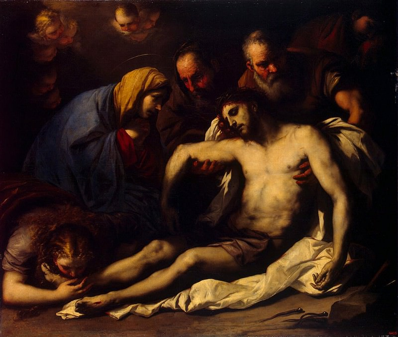 of Giordano, Luca - Lamentation of Christ. Hermitage ~ part 04