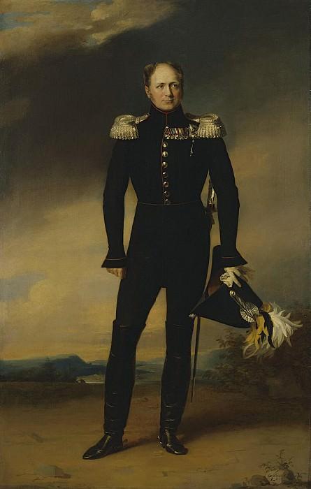 Dawe George - Portrait of Alexander I. Hermitage ~ part 04