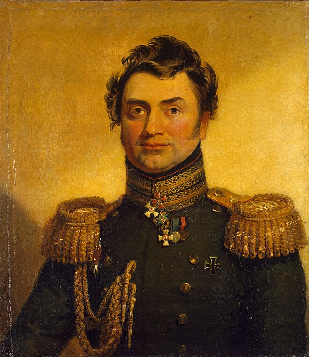 Dawe George - Portrait of Matvey Evgrafovich Hrapovitsky. Hermitage ~ part 04