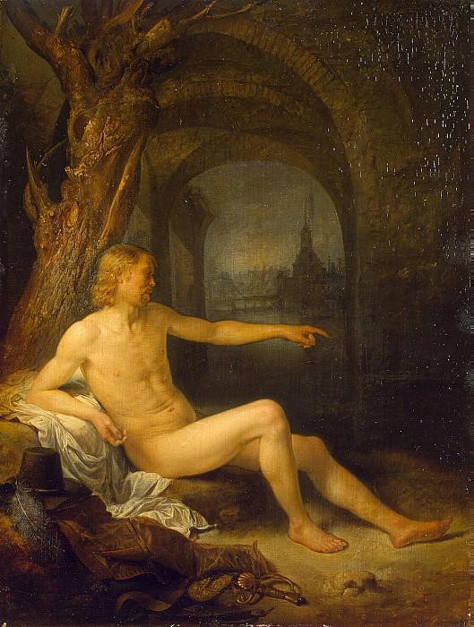 Dow, Gerard - Bathers. Hermitage ~ part 04