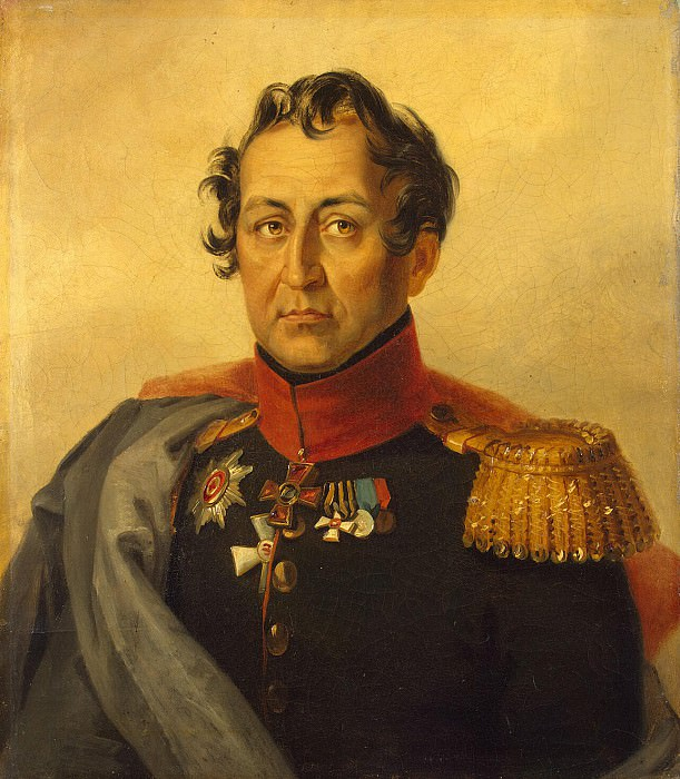 Dawe George - Portrait of Alexander Ivanovich Talyzina. Hermitage ~ part 04