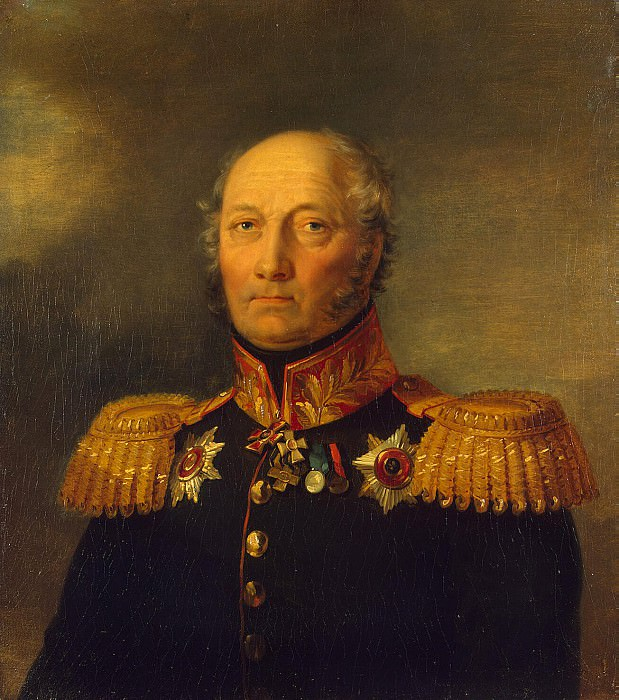 Dawe George - Portrait of Andrey Semenovich Umantsa. Hermitage ~ part 04