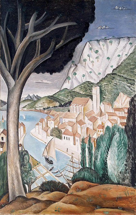 Derain Andre - Martigues. Harbour in Provence. Hermitage ~ part 04