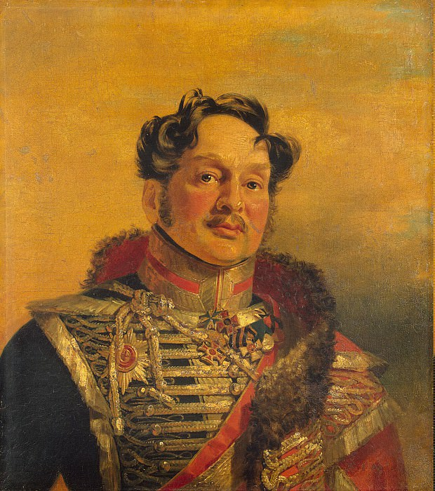 Dawe George - Portrait of Mikhail Ivanovich Mezentseva. Hermitage ~ part 04