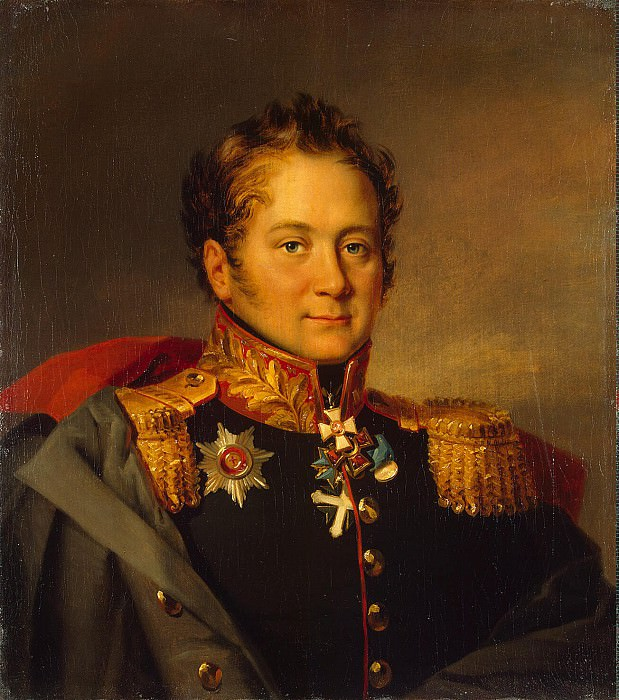 Dawe George - Portrait of Alexander Alexandrovich Pisarev. Hermitage ~ part 04