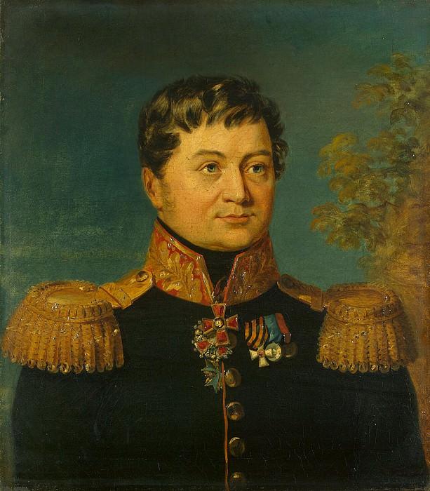 Dawe George - Portrait of Andrey P. Turchaninova. Hermitage ~ part 04
