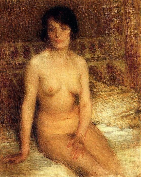 Лоран, Эрнест - Сидящая. Французские художники