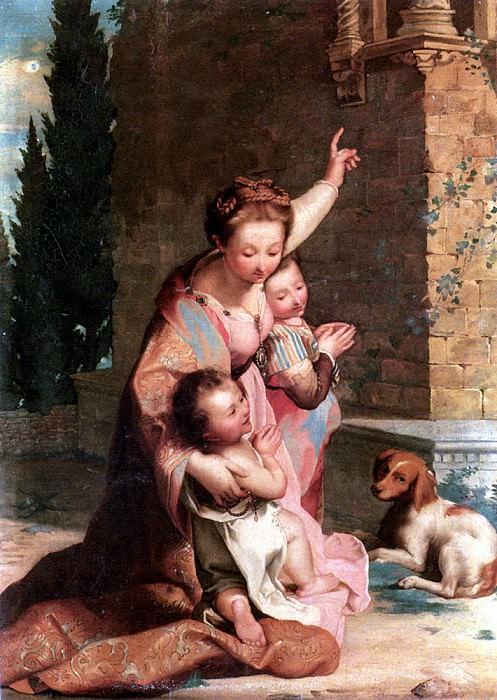 Cecconi Niccolo La Preghiera. French artists