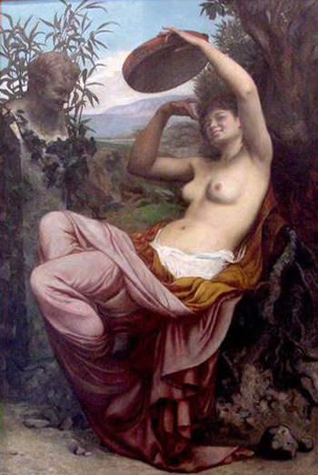 bellanger camille bacchante. French artists