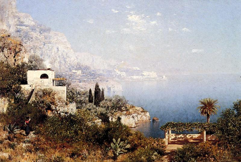 Berninger Edmund Off The Amalfi Coast. French artists