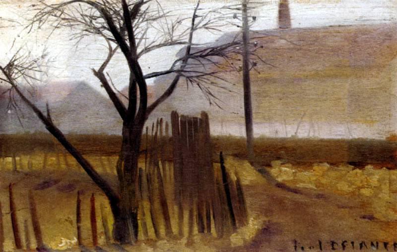 Delance Paul Saunois Seine Et Oise. French artists