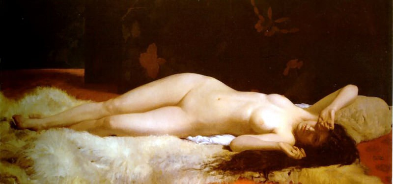 Le Repos. French artists