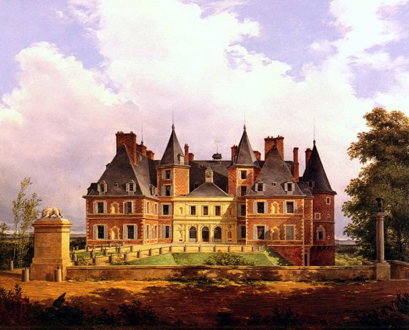 Barbier Nicolas Alexandre A French Chateau. French artists