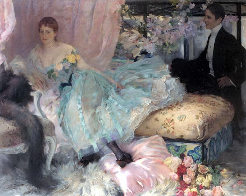 Дусе Г.Л. - Настойчивый поклонник. Французские художники