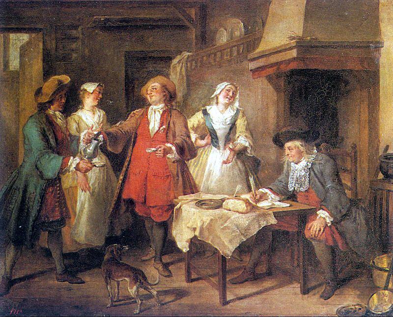 Ланкре, Николя (1690-1743) #4. Французские художники