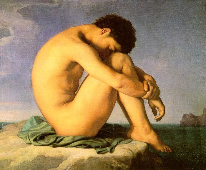 Flandrin, Hippolyte (French, 1809 - 1864). French artists