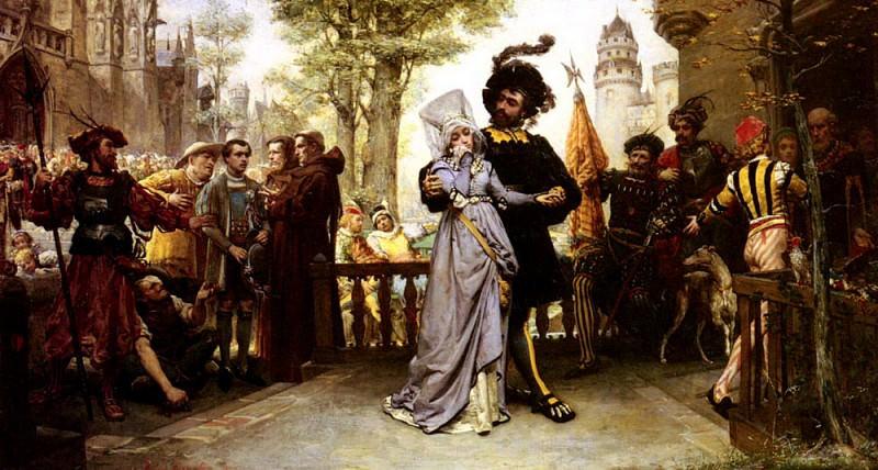Garnier Jules Arsene Le Droit Du Seigneur. French artists