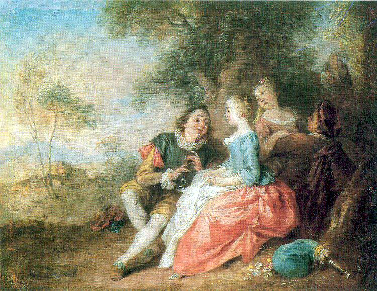 Pater, Jean - Baptiste (French, 1695-1736). French artists